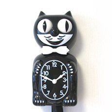 Kit Cat Clock Black (Large Size)