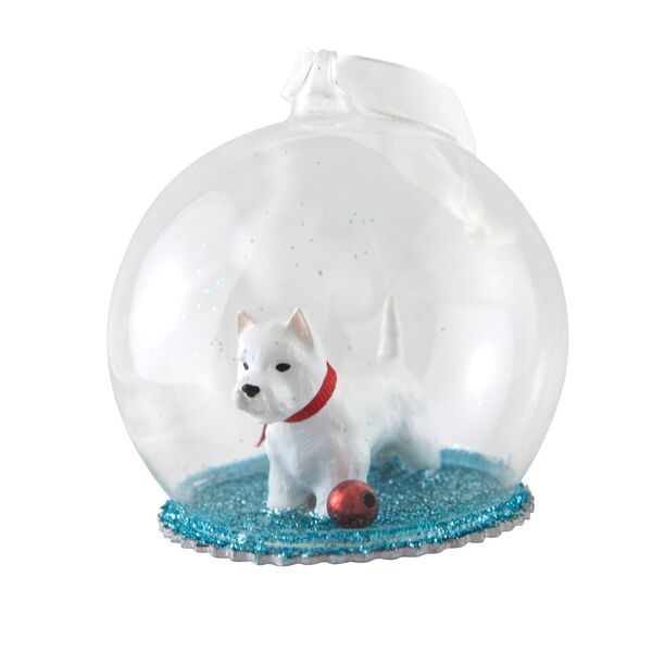 40% Westie Glass Dome