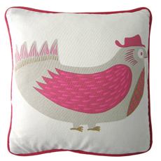 Daddy Bird cushion cover