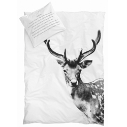 Deer single bedding set