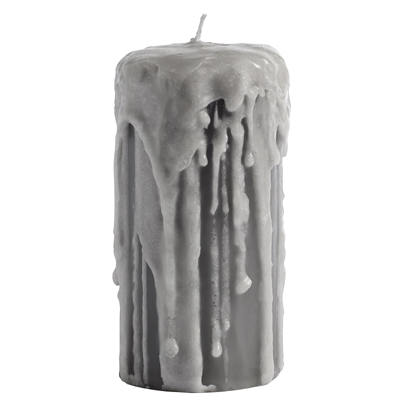 Gray Candle Melting (L)