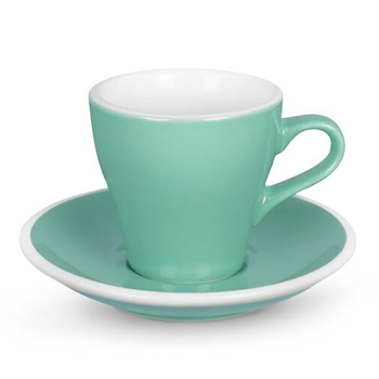 Acme Tulip cup & saucer (Green)